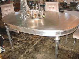 inspiration silver dining tables creative home decoration ideas