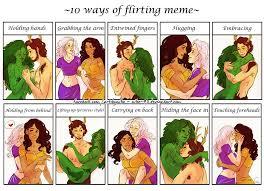 Flirting Meme - comm flirting meme for lady woods by nikemv on deviantart