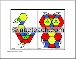 block pattern printable shape patterns gallery