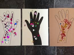 diwali hand art pre play