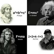Einstein Meme - dopl3r com memes a2 b2 c2 pi ta go a einstein f ma 2 2 4 1 3