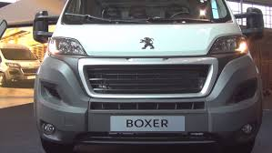 peugeot boxer peugeot boxer cargo edition 435 l3 2014 exterior and interior in