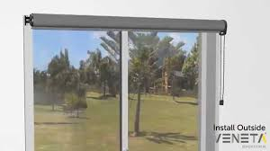 Putting Up Blinds In Window How To Install A Roller Blind Outside Youtube