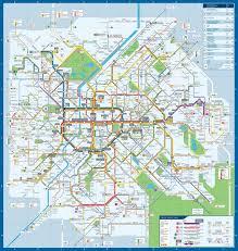 Orange Line Metro Map by Transit Maps