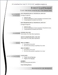 Resume Template It Free Basic Resume Templates Wwwresume Format Resume Format And