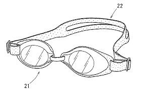 patent us20050241051 swimming goggles google patents