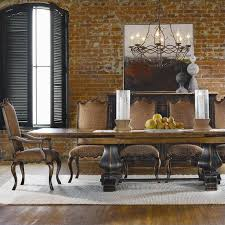 Refectory Dining Tables Hooker Furniture Sanctuary Refectory Dining Table In Ebony And