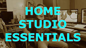 the 5 essentials for a home studio youtube