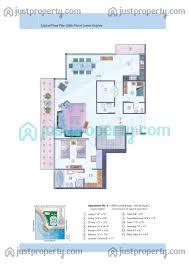 iris blue tower floor plans justproperty com