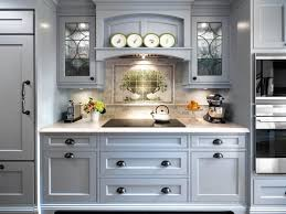Diy Painting Kitchen Cabinets by Blue Grey Painted Kitchen Cabinets With Ideas Photo 10768 Kaajmaaja