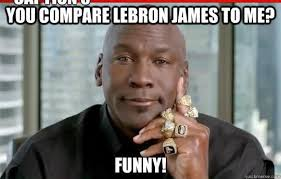 Lebron James Crying Meme - comparing nba players allaboutsportszone