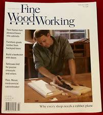 fine woodworking magazine back issues ebay