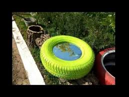 How To Use Old Tires For Decorating Used Tires Recycling U0026 Decorative Gardens Ideas Youtube
