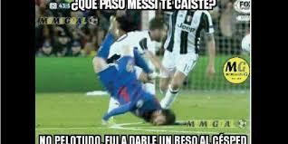 Memes Sobre Messi - messi es la figura de los memes tras su aparatosa ca祗da publinews