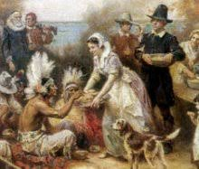 Pilgrims And Thanksgiving History History Of Thanksgiving A Timeline