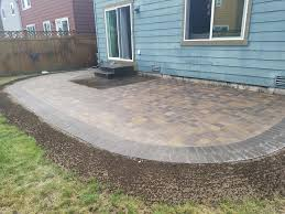 Paver Patio Cost Per Square Foot by Lacey Paver Patio Extension Ajb Landscaping U0026 Fence