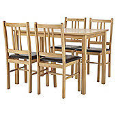 Dining Table 4 Chairs Set Dining Table U0026 Chair Sets Home Furniture Tesco Direct Tesco