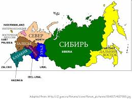 russia map after division more on divided russia maps and xenophobic nationalist views