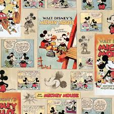 graham u0026 brown disney mickey mouse vintage episode comic strip