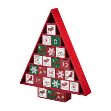 wooden christmas tree advent calendar national gallery shop