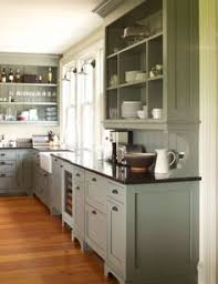 benjamin moore silver lake gray green for kitchen cabinets