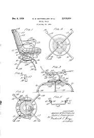 Who Invented The Swivel Chair by Patent Us2916084 Swivel Chair Google Patents