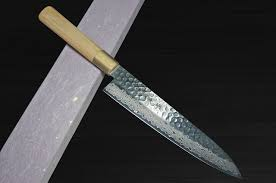 Damascus Kitchen Knives For Sale by Zanmai Mcusta 33 Layer Vg 10 Damascus Hammered Chef Knife Gyuto