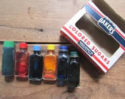 vintage food coloring bottle etsy