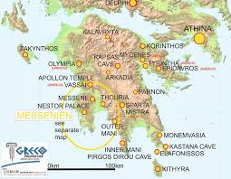 Sparta On Map Sparta Greece Map Map Of Mistras 1680 Digital Edition Athens In