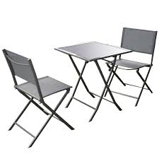 Folding Patio Furniture Set by Amazon Com Giantex 3 Pcs Bistro Set Garden Backyard Table Chairs