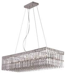 chrome kitchen island polished chrome and 12 light chandelier island light