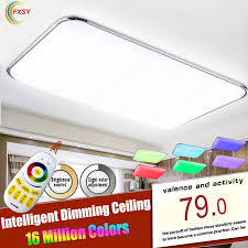 Changing Ceiling Light Led Ceiling Light With 2 4g Rf Remote Controlled Dimmable