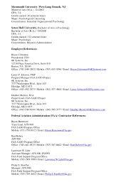Federal Resume Format Template Federal Resumes Eliolera Com
