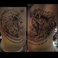 22 best small lion tattoo on ribs images on pinterest body parts