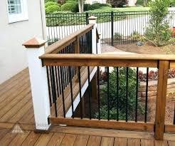 Ideas For Deck Handrail Designs Deck Handrail Ideas Deck Handrail Designs Creative Deck Railing