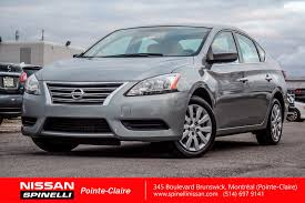 grey nissan sentra used 2013 nissan sentra sv for sale in montreal s0254 spinelli