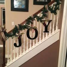 garland decorating ideas railing design image
