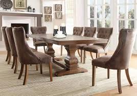pedestal dining room table sets furniture stores formal dining set in chicago