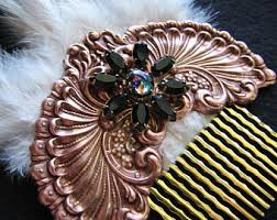 decorative hair combs decorative hair comb etsy