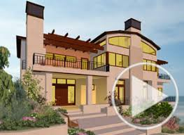 Example home design by Chief Architect Software Barrel roof and barrel ceiling video