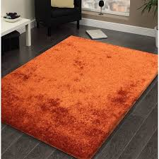 Rust Area Rug Shag Solid Rust Area Rug 5 X 7 Free Shipping Today