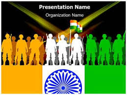 indian army powerpoint template is one of the best powerpoint