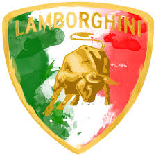 lamborghini logo entry 26 by damianba90 for illustrate a painted lamborghini logo