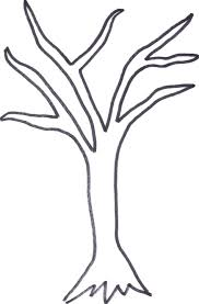 tree templates printables next here we a basic outline