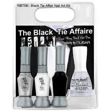 nail art pens nubar u0026 nails supreme nubar the black tie affaire