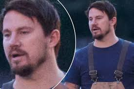 channing tatum insists he never channing tatum looks very different with goatee as hollywood hunk