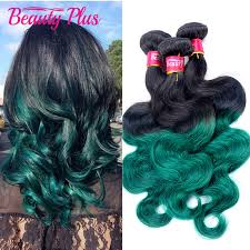 blue hair extensions 30 teal ombre hair extensions wave two 2 tone ombre 1b