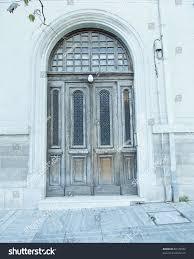 elegant neoclassical house door athens greece stock photo 88129972