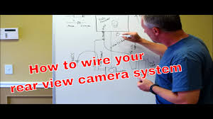 how to wire your reverse camera with a switch youtube