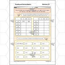 rounding and ordering numbers rounding numbers